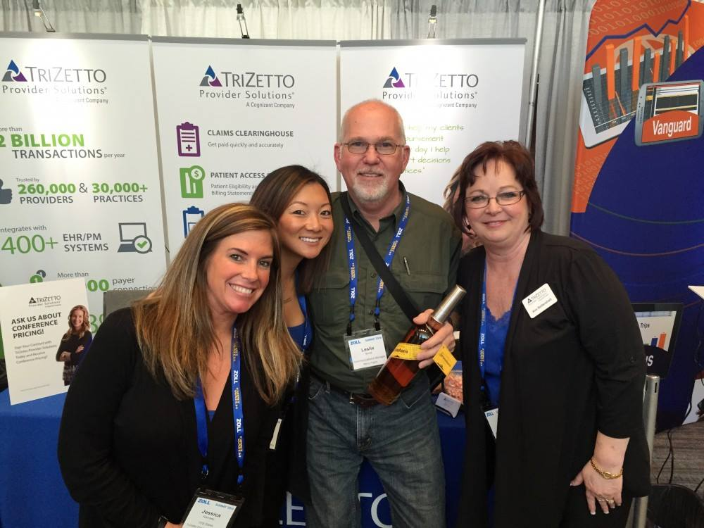 TriZetto Cognizant Reps at Booth Exhibit at Trade Show