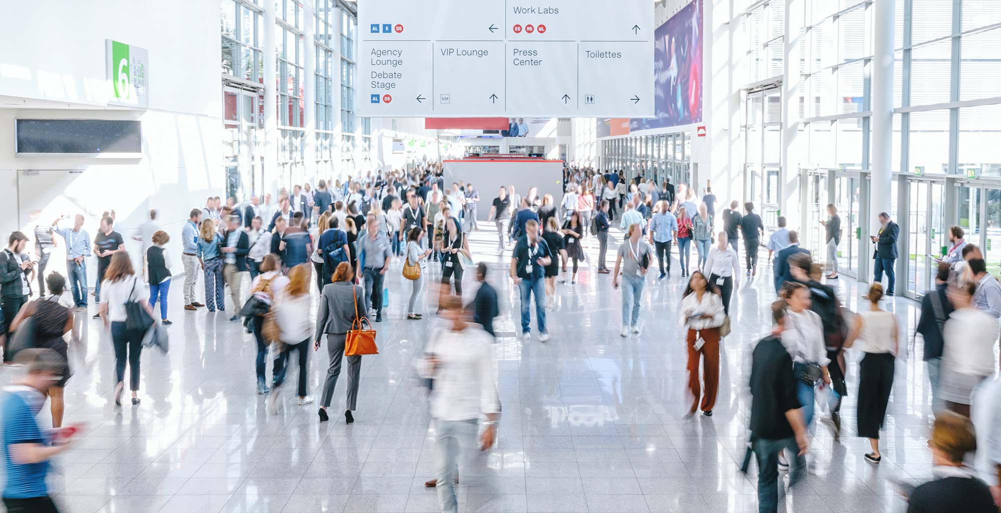 Trade shows are target-rich environments
