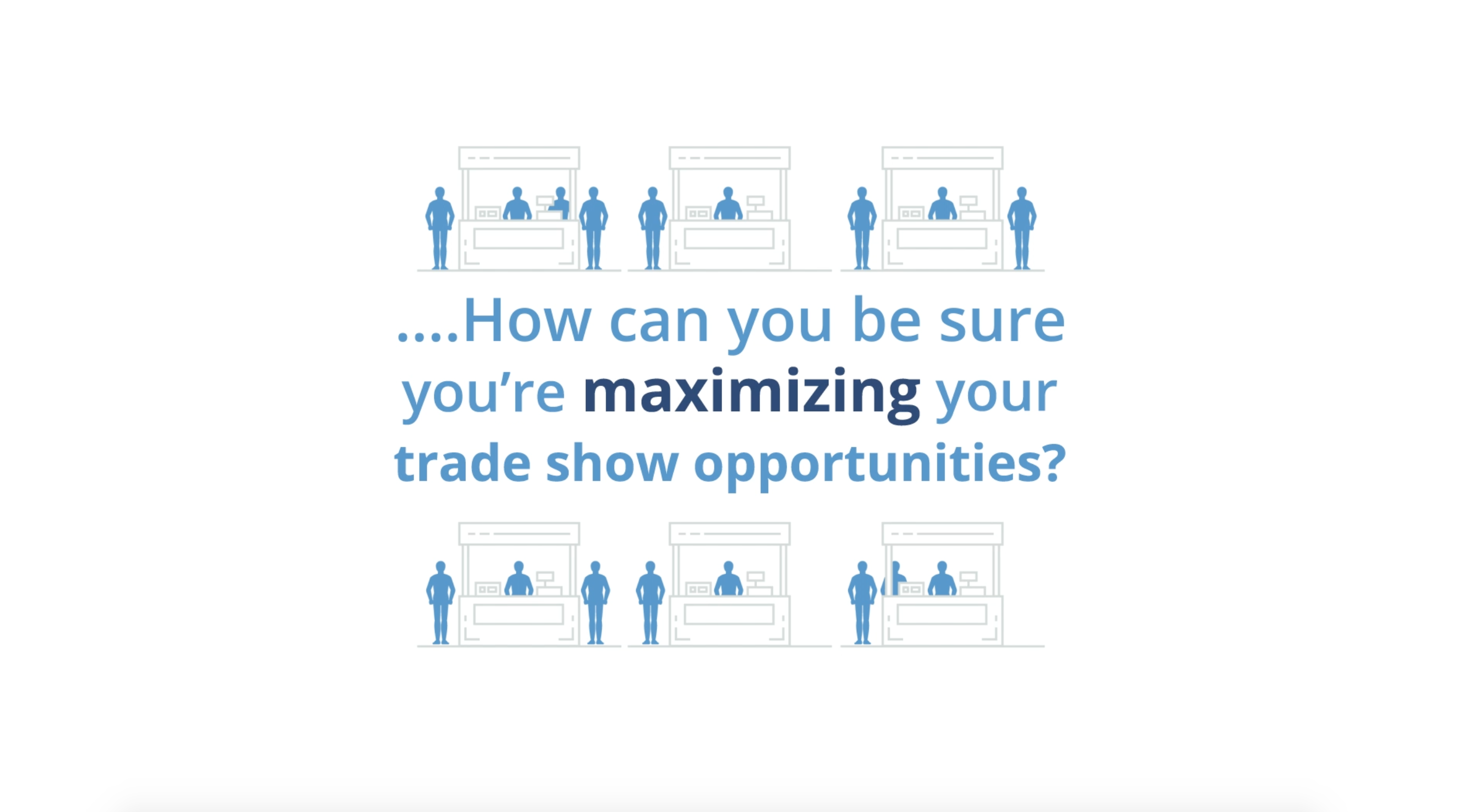 Trade show lead opportunities